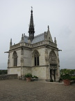 Chapel at the Chateau d'Amboise